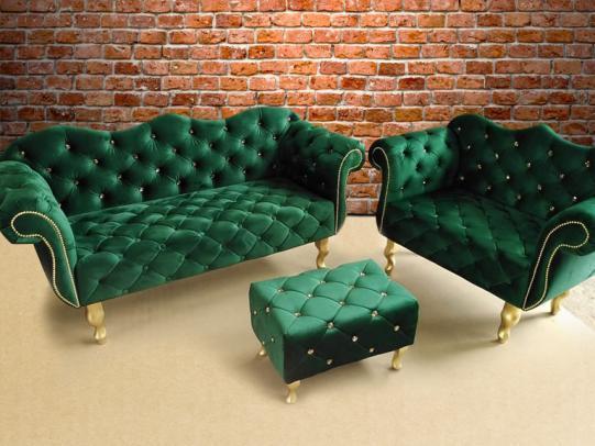 zielony zestaw wypoczynkowy